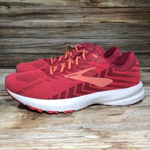 Brooks Launch 6 Red Running Shoes Women 10